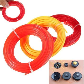 2017 Nylon Strimmer Line Mayitr Brushcutter Grass Trimmer Strimmer Line Cord Wire Round String Lawn Mover Parts 10m x 2mm