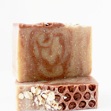 Oats & Honey Cinnamon Handcrafted Soap Bar