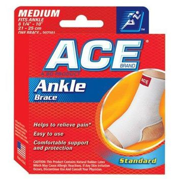 Ace Knitted Ankle Support, Medium