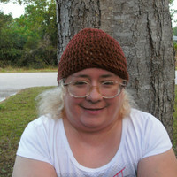 Handmade Crocheted biker hat by CanadianCraftCritter on Etsy