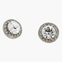Erickson Beamon Rocks 'Arcade' Button Stud Earrings