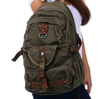 Canvas Heavy Duty School Backpack