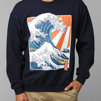 Urban Outfitters - LIFE Wave And Sun Pullover Sweatshirt