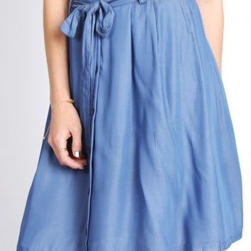 El Cid Chambray Skirt
