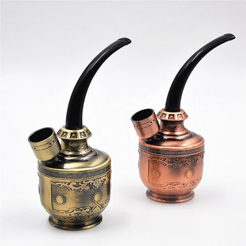 New Arrivel Novelty Hookah Plastic Water Smoking Pipe Smoking Pipe Acrylic Smoking Sets