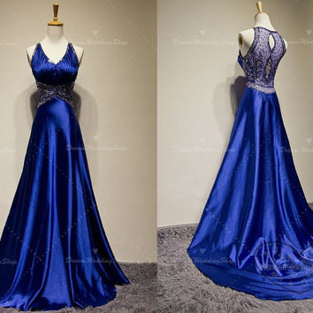 Cheap prom dresses,Elasticized satin evening dresses,Chapel cocktail dresses,Blue quinceanera dresses,Sexy party dresses.Top selling!