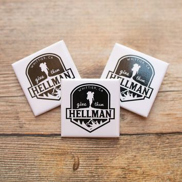 WHITTIER HELLMAN TRAIL PINS