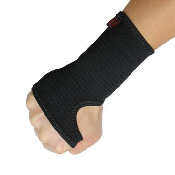 Kuangmi Compression Wrist Support Sports Wristband Bracer Hand Palm Protector Wrist Wraps Strap Weightlifting Boxing Wrist Guard