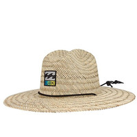 BILLABONG Patches Mens Lifeguard Hat, Natural