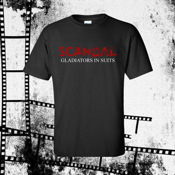 Scandal T-Shirt Scandal TV Show Inspired Tee Men's Unisex Graphic Tee Olivia Pope
