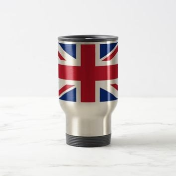 Travel Mug with Flag of United Kingdom