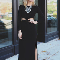 Cutting Edge Maxi Dress