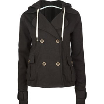 ELEMENT Double Breasted Womens Peacoat 183762100 | SALE | Tillys.com