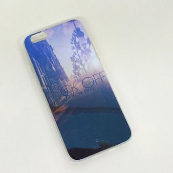 Streets of New York Colorful Reflection Rubber Case for iPhone 5s 6 6s Case iPhone 6 6s Plus Gift-76-170928