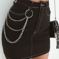 Buy Our Hunter Denim Skirt in Black Online Today! - Tiger Mist