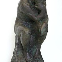Thinker Bronze Plated by Rodin