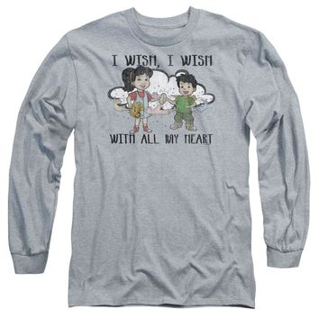 Dragon Tales - I Wish With All My Heart Long Sleeve Adult 18/1