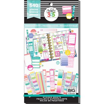 Create 365® The Happy Planner® Sticker Sheets, Productivity