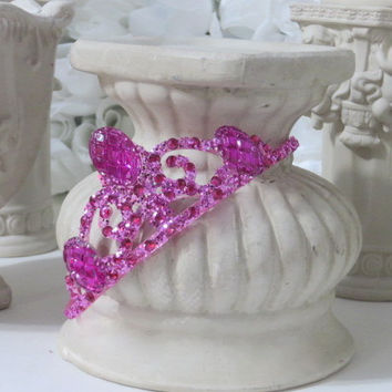 Rhinestone Crown - Princess Crown - Fairy Costume - Girls Tiaras - Princess Party - Princess Gifts - Girls Hair Accessories - Girls Birthday