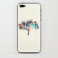 Tree iPhone & iPod Skin by Kelly Stahley Designs