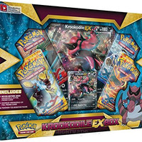 Krookodile-EX Box Pokemon Trading Card Game