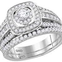 1Carat-Diamond 1-5Carat-Diamond BRIDAL SET CERTIFIED
