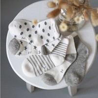 Fashion Baby Socks 5 Pair