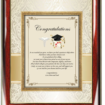 Graduation Medical School Gift Picture Frame