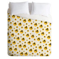 Allyson Johnson Firefly Pattern Duvet Cover