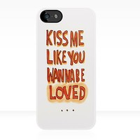 Ed Sheeran: Kiss Me Like You Wanna Be Loved - Iphone Case by sullat04