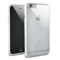 Snap On Protective Slim Hybrid Rubber Bumper Case for Apple iPhone 6