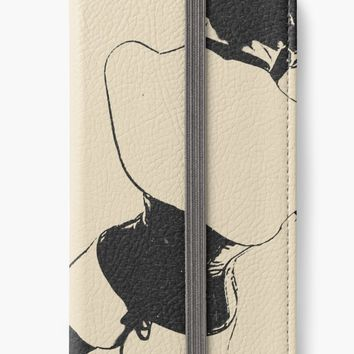 'Pervify me, Hot domina, leather, latex costume' iPhone Wallet by sexyjustsexy