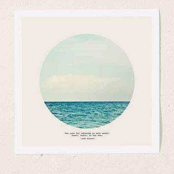 Tina Crespo Salt Water Cure Art Print