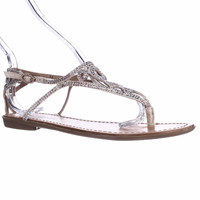 Zigi Soho Advice Sparkle Flat Thong Sandals - Cinnamon