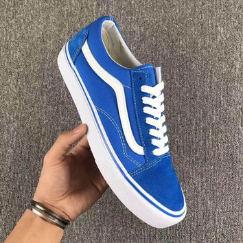 vans shoes blue