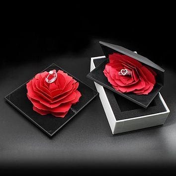 Pop Up Valentines Ring Box For Wedding