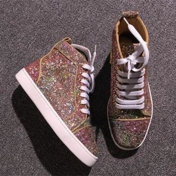 PEAPNW6 Cl Christian Louboutin Style #2286 Sneakers Fashion Shoes