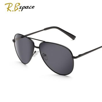 RBspace glasses Alloy Men's SunglassesPolarized Sunglasses Male for Driving  tourism Eyewears Accessories sunglasses men 2016
