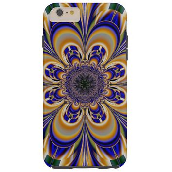abstract flower pattern tough iPhone 6 plus case