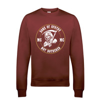 Sons of Apathy Anarchy Gang Reaper SOA Biker Sweat Shirts Long sleeves