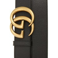 Gucci Marmont Logo Leather Belt | Nordstrom