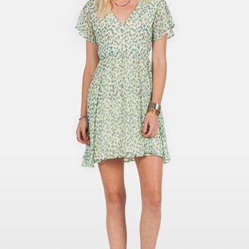 Junior Women's Volcom 'So Serious' Babydoll Dress