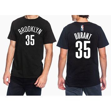 Kevin Durant Brooklyn Nets Jersey P2 Adult Unisex Tee T Shirt