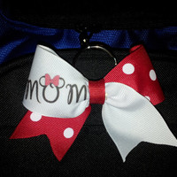 Bow Keychain for MOM