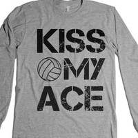 Heather Grey T-Shirt | Funny Volleyball Sports Shirts
