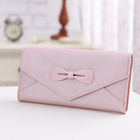 Bow Lady Wallet Purse