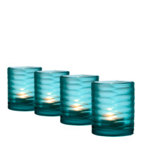 Blue Tea Light Holder (set of 4) | Eichholtz Ocean