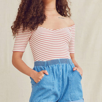 Urban Renewal Recycled Cuffed Denim Short | Urban Outfitters