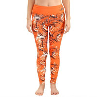 Cleveland Browns Women's Official NFL Thematic Leggings