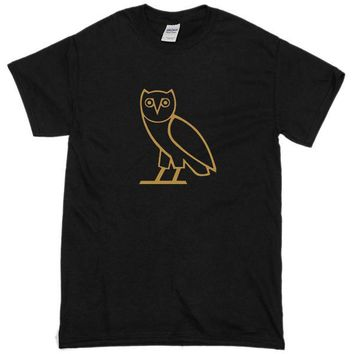 Drake Ovoxo Owl Custom Men's Gildan Adult T-Shirt